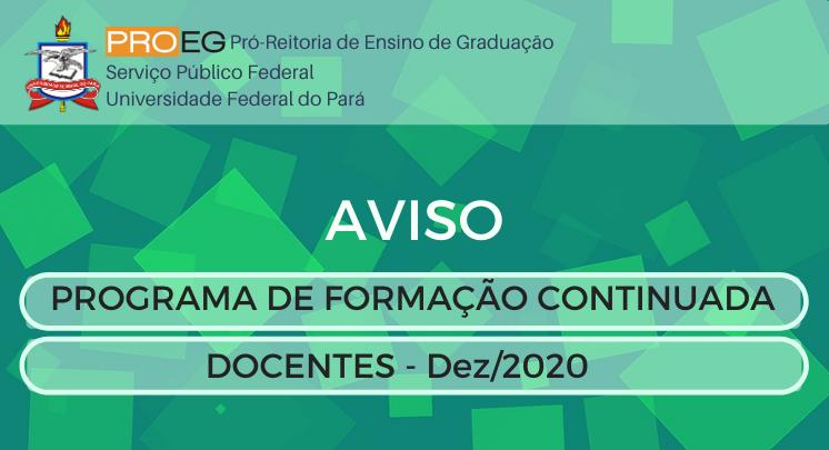 PROGRAMA DE FORMAÇÃO CONTINUADA (12/2020)