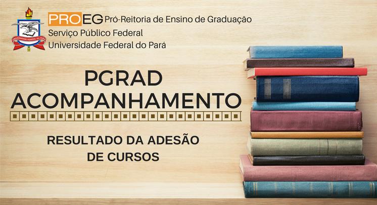 PGRAD-ACOMPANHAMENTO RESULTADO DA ADESÃO DE CURSOS