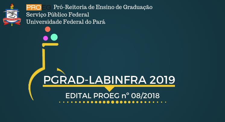 PROGRAMA LABINFRA 2019 – EDITAL Nº 08/2018